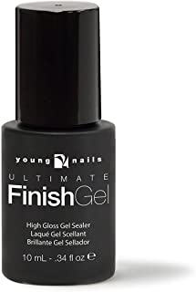 Young Nails Ultimate Finish Gel .34oz, 2 pack