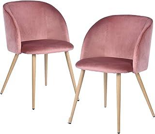 FurnitureR Juego de 2 sillas de Comedor para Cocina, sillas