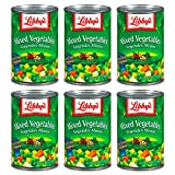 Libby's Mixed Vegetables 15oz Cans (Pack of 6)