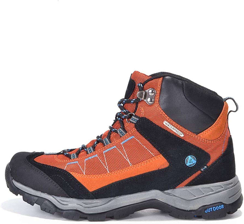 Bergort Men Hiking shoes Outdoor Waterproof Sports Trekking Mountain Climbing Sneakers