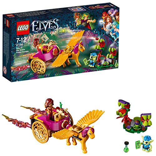LEGO- Elves Azari e la Fuga dalla Foresta dei Goblin, Multicolore, 41186