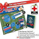 Alles für Rostock-Fans by Ligakakao.de Rostock Mütze ist jetzt die Liga-APOTHEKE Strickmütze blau-rot Logo Emblem Männer-Größe