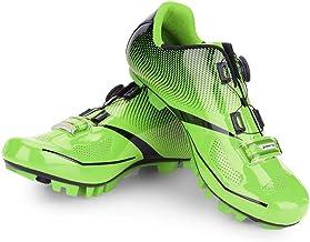 VGEBY1 Zapatillas de Bicicleta para Hombre, Zapatillas Antideslizantes para Bicicletas