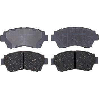 ACDelco 14D505C Advantage Ceramic Front Disc Brake Pad Set