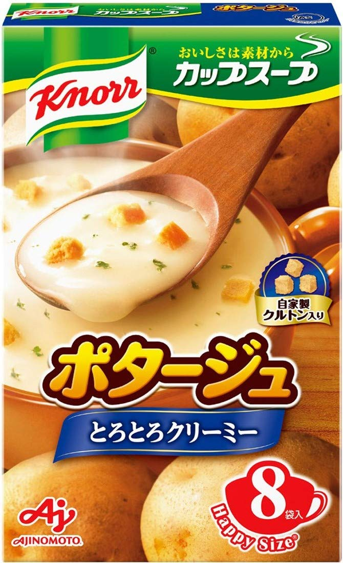 Ajinomoto Knorr Cup Soup potage 8 pieces bags 6 input Discount Free Shipping New mail order 130.4g ~