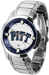 PittタイタンMen 's Steel Watch