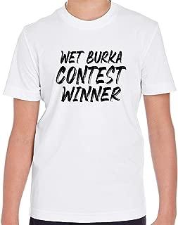 Wet Burka Contest Winner Kid's Short Sleeve T Shirt