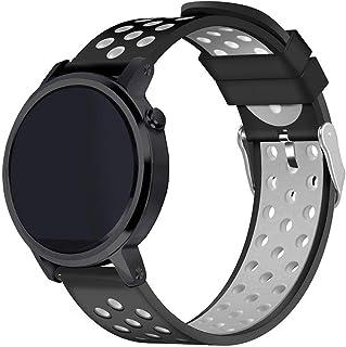 سير ساعة سامسونغ قير س3 فرونتير و كلاسيك، وساعة موتو 360 الجيل الثاني ، سيليكون جودة عالية، شكل رياضي, NIKBG