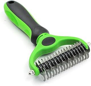 Pet Republique Dematting Tool - Matt Splitters for Dogs, Cats, Rabbits, Long Haired Breed Pets (17+9 Teeth)