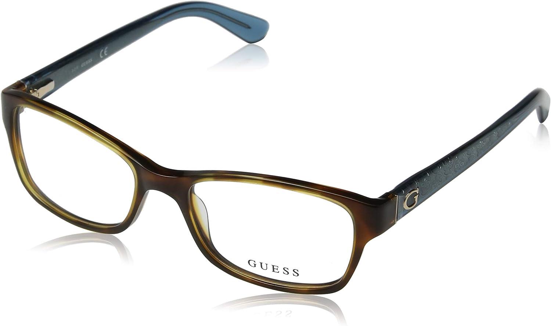 Optical frame Guess Acetate Havana  Transparent bluee (GU2591 052)