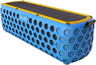 Merlin Helios Sound Box - Bluetooth Speaker with Solar Charger, Blue