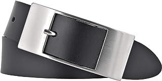 Bernd Götz Damen Leder Gürtel 35 mm schwarz Rindleder Damengürtel