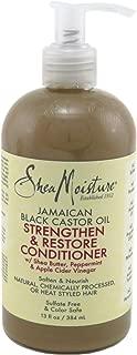 Shea Moisture Jamaican Black Conditioner Strength/Grow 13 Ounce (384ml) (2 Pack)