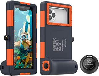 AICase Universal Waterproof Underwater Photography Housings with Bluetooth Camera Shutter Remote Control for All Smartphones