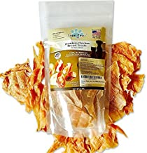 Loyal Paws Dog Jerky Treats - Premium Chicken - Dog Treats Made in USA Only. All Natural - Healthy, No Preservatives, Grain Free - Great for Training!