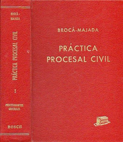 Práctica procesal civil: Parte de 9788471629234