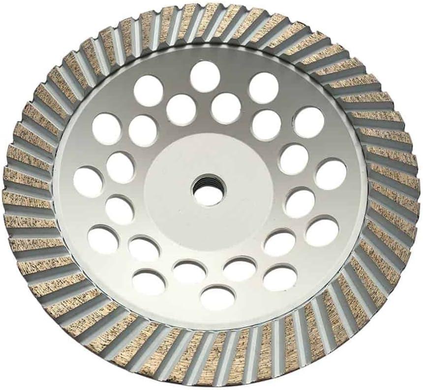 "7/"" POWERFUL COARSE BOND #18//20 Diamond Grinding Cup Wheel Hard Concrete*BEST*"