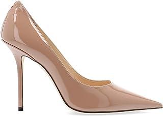 JIMMY CHOO Luxury Fashion Womens LOVE100PWJBALLETPINK Pink Pumps | Fall Winter 19