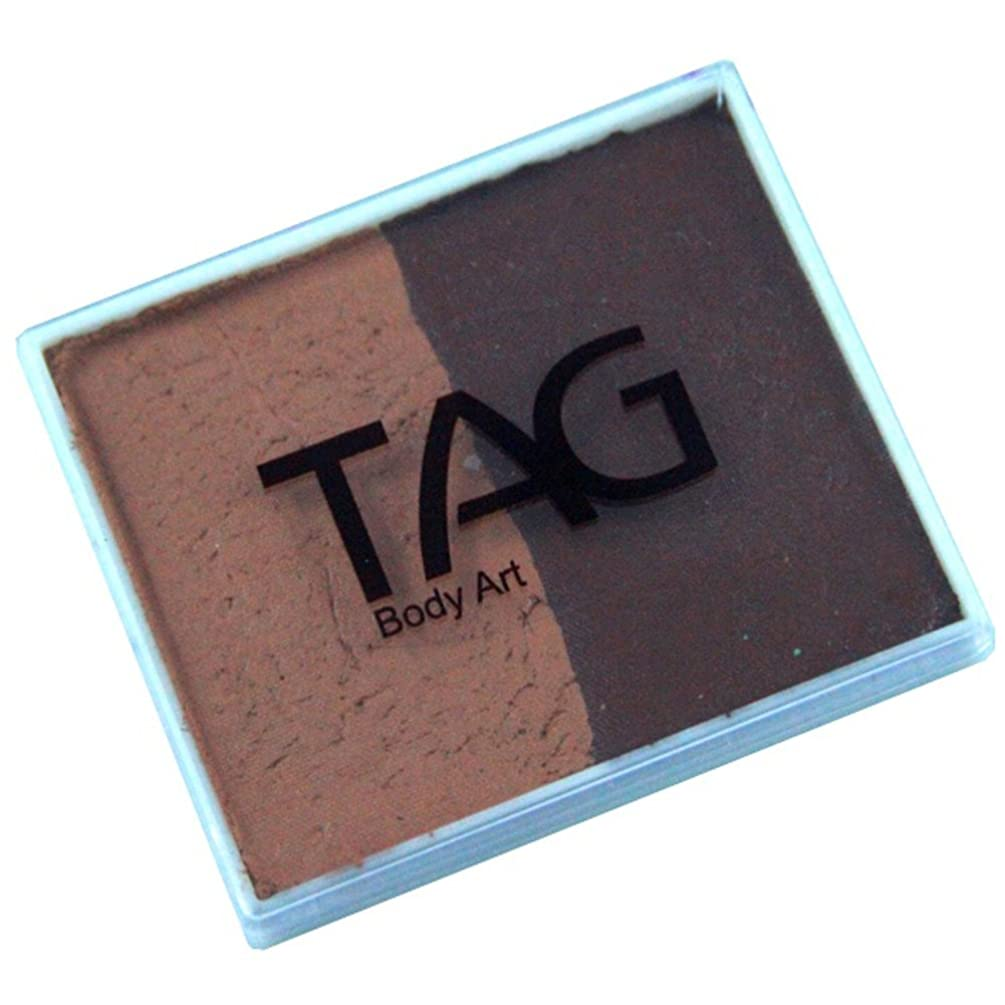 TAG 2 Color Split Cake - Mid Brown and Brown (50 gm)