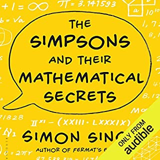 The Simpsons and Their Mathematical Secrets audiobook cover art