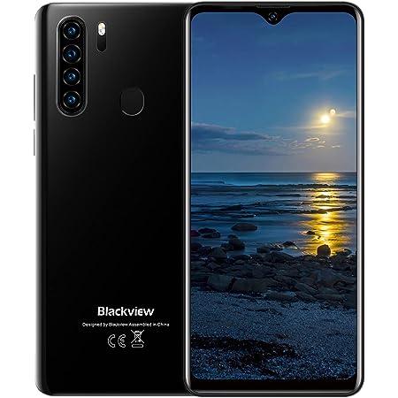 Blackview A80 Pro Cellulari Offerte, Schermo 6.49'' HD+ In-Cell Waterdrop Telefoni, Helio P25 Octa-core 4GB+64GB Mobile, 4680mAh Grande Batteria 4G Smartphone, 13MP Quad Camera, Android 9.0, Dual SIM