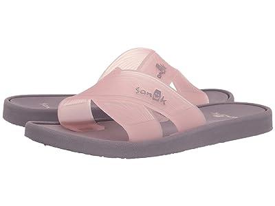 Sanuk Beachwalker Slide TX (Woodrose) Women