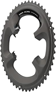 Shimano 105 5800-L 50T 130mm BCD 11-Speed Road Bike Chainring For 50/34t Black