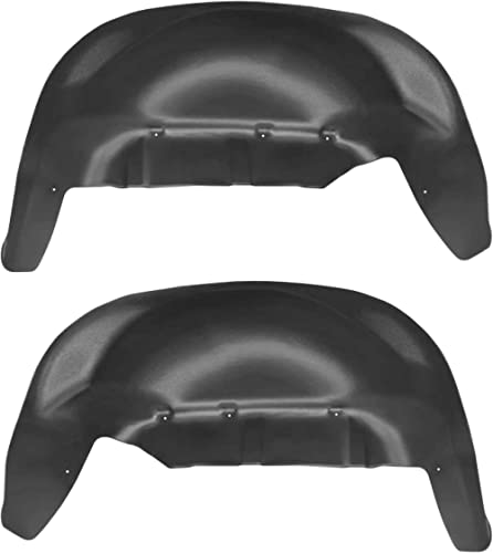 Husky Liners 79061 Fits 2019 Chevrolet Silverado 1500 - New Body Rear Wheel Well Guards