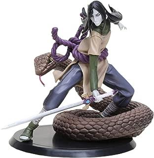 Ashland|Kids Toys - Creative Snake Naruto Action Figures Orochimaru Naruto Uchiha Obito Xtra Figurine PVC Toys (7inch)