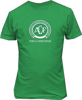Forca Chapecoense de Futebol Brasil Soccer Football t Shirt Green