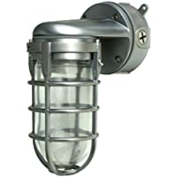 Deals on Woods Traditional 150W Incandescent Weather Industrial Light