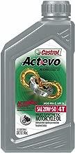 Castrol 06139 Actevo X-Tra 4T Synthetic Blend - 20W50 - 1qt.