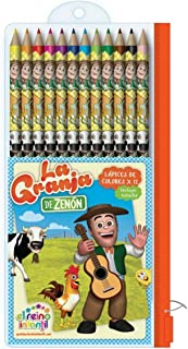 La Granja de Zenon 12 Pencil School Set
