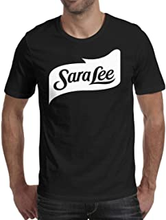 Manly T-Shirts Tee Slim Fit Classic Sara-Lee-Corp-Logo Short Sleeve