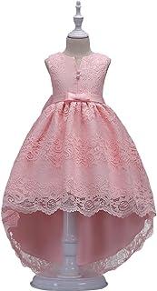 73615b4fc3657 HUAANIUE Robe de Fête Élégance Réduction Fille Mariage Cérémonie Soirée  Demoiselle d Honneur Taille Princesse