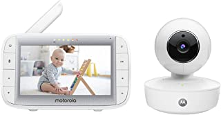 Motorola MBP50A Video Baby Monitor with 5 Inch Handheld Parent Unit, Infared Night Vision and Room Temperature Display