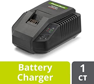 PowerSmith PC1401 40V Max Lithium-Ion Battery Charger - Eco Friendly, Energy Efficient Replacement Battery Charger for PowerSmith's Battery-Powered Lawn Tools