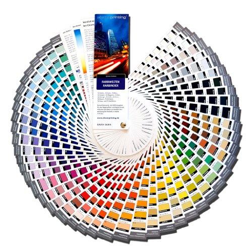 Cleverprinting Farbwelten CMYK Farbfächer
