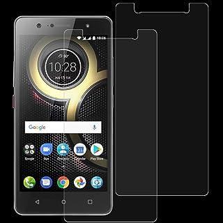 Dongdexiu Mobiltelefon skärmskydd 2 st 0,26 mm 9H 2,5D härdat glasfilm för Lenovo K8 Plus