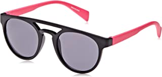 TFL 78065-BlackPink Round Girl's Sunglasses, Matt Black & Pink