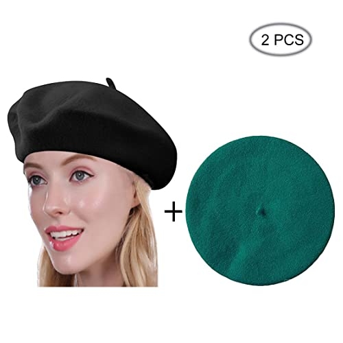 c672811538cb4 Beret Hat of French Vintage Style