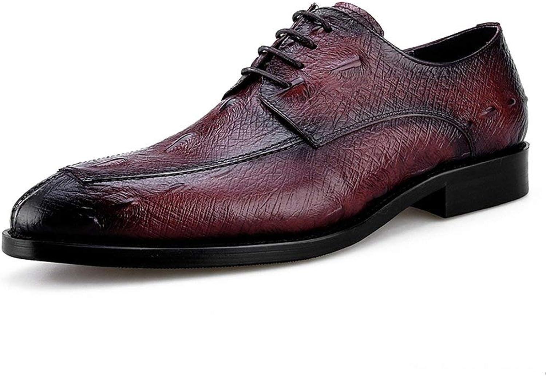 WWJDXZ Herren Lederschuhe Komfortable Spitzen Business Formelle Kleidung Mnnliche Formale Schuhe Hochzeit Schuhe beilufig