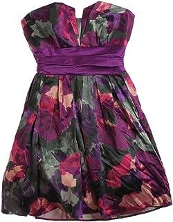 B. Darlin Womens Strapless Floral Sundress