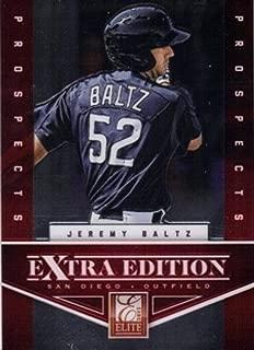 2012 Panini Prizm Elite Extra Edition #8 Jeremy Baltz Padres MLB Baseball Card NM-MT