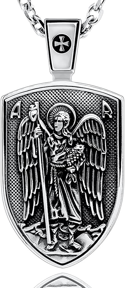 VENICEBEE Archangel St. Limited time for free shipping Raphael Dedication Saint Angel Medal Heale Guardian