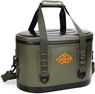 yodo CA217789-03 Oval Leak Proof Bag 24 Cans-Soft Sided Insulated Coolers with, Olive