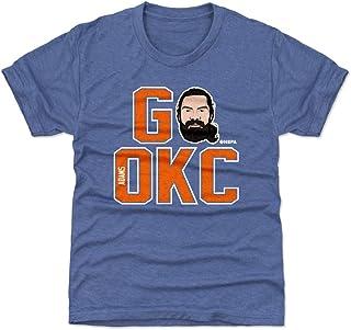500 LEVEL Steven Adams Oklahoma City Basketball Kids Shirt - Steven Adams GO OKC