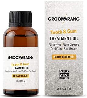 Groomarang Gum Disease Treatment Oil for Gingivitis, Bad