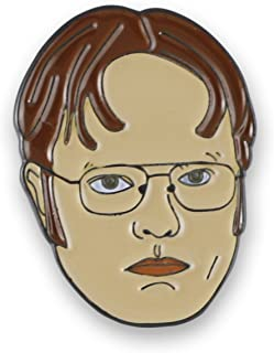 Forge Dwight Schrute Rainn Wilson Enamel Lapel Pin