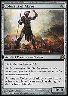 Magic The Gathering - Colossus of Akros (214/249) - Theros